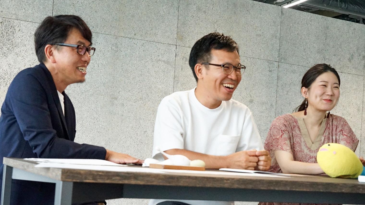 ソニー株式会社クリエイティブセンター 細田 育英、城ヶ野 修啓、鈴木 亜弥