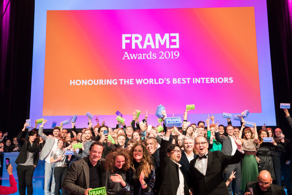 FRAME awards 2019の様子
