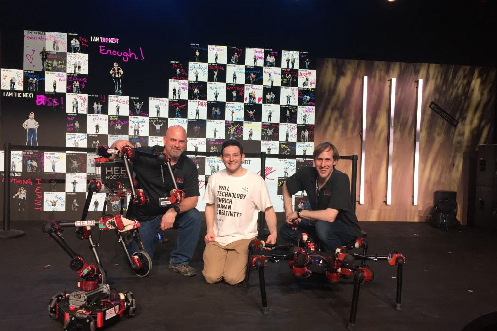 SXSW2019「HEBI Robotics」の展示