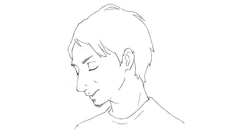 クリティカ・ユニバーサル代表四戸俊成氏(イラスト)