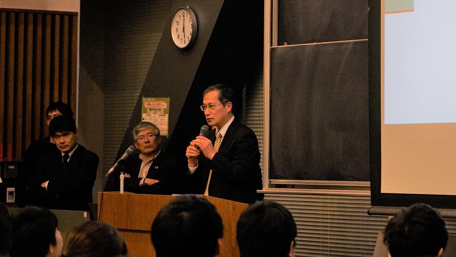 東京大学大学院工学系研究科 副研究科長 浅見泰司教授