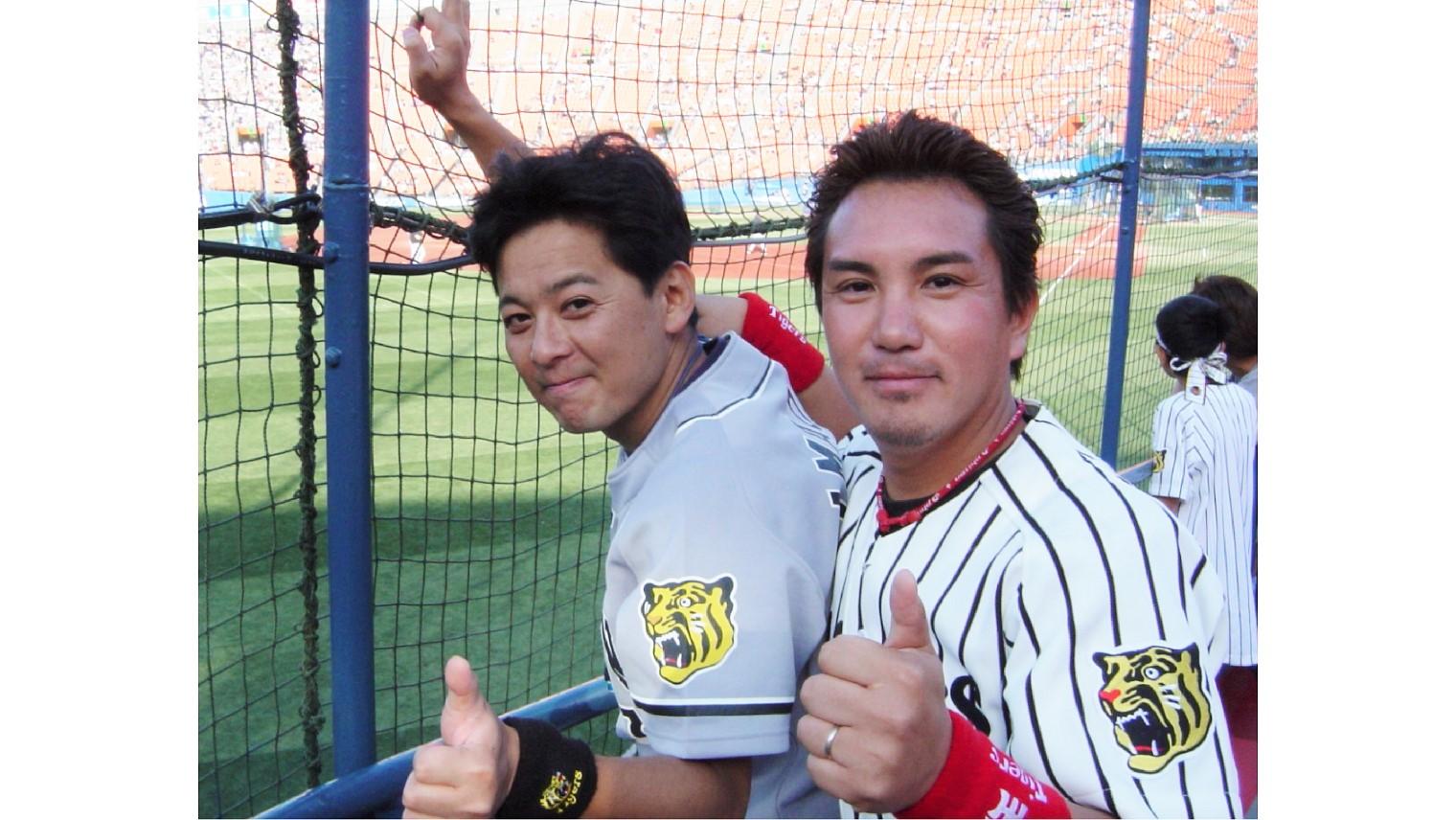 Sony Startup Acceleration Program アクセラレーター 水間浩彰。草野球の仲間と野球観戦。