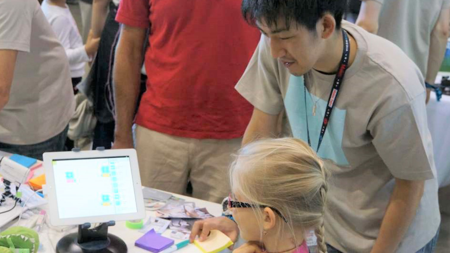 Maker Faire Bay Area 2014 MESHブースの様子