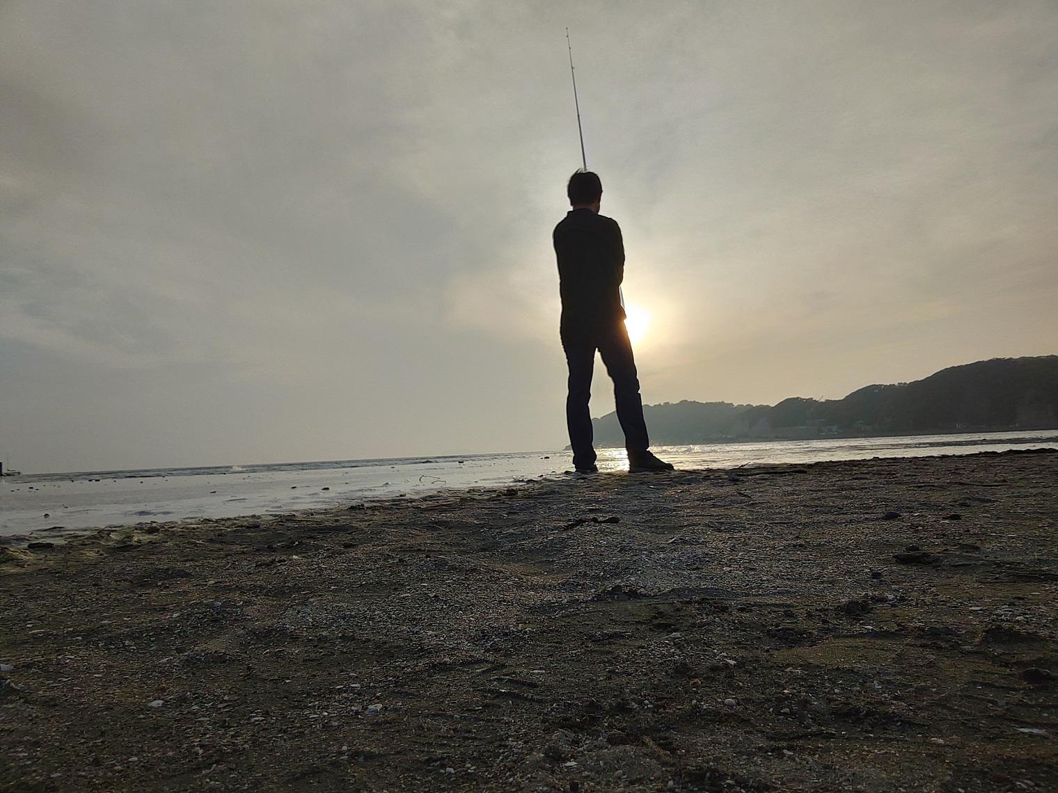 海釣りでリフレッシュ