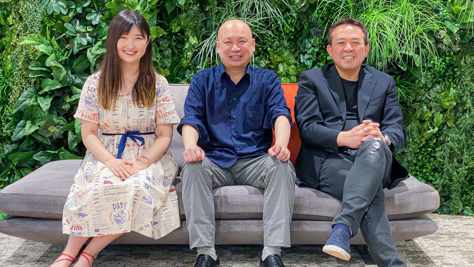 写真右:株式会社ABCアニメーション 代表取締役社長 西出 将之さん