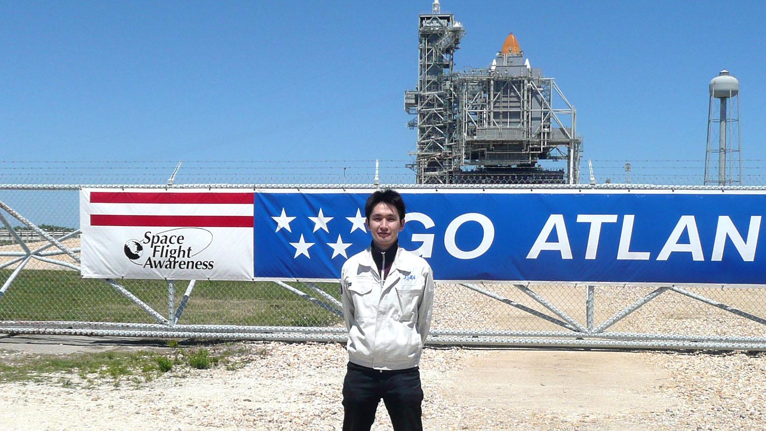 cJAXA:2009年、スペースシャトルと村木さん