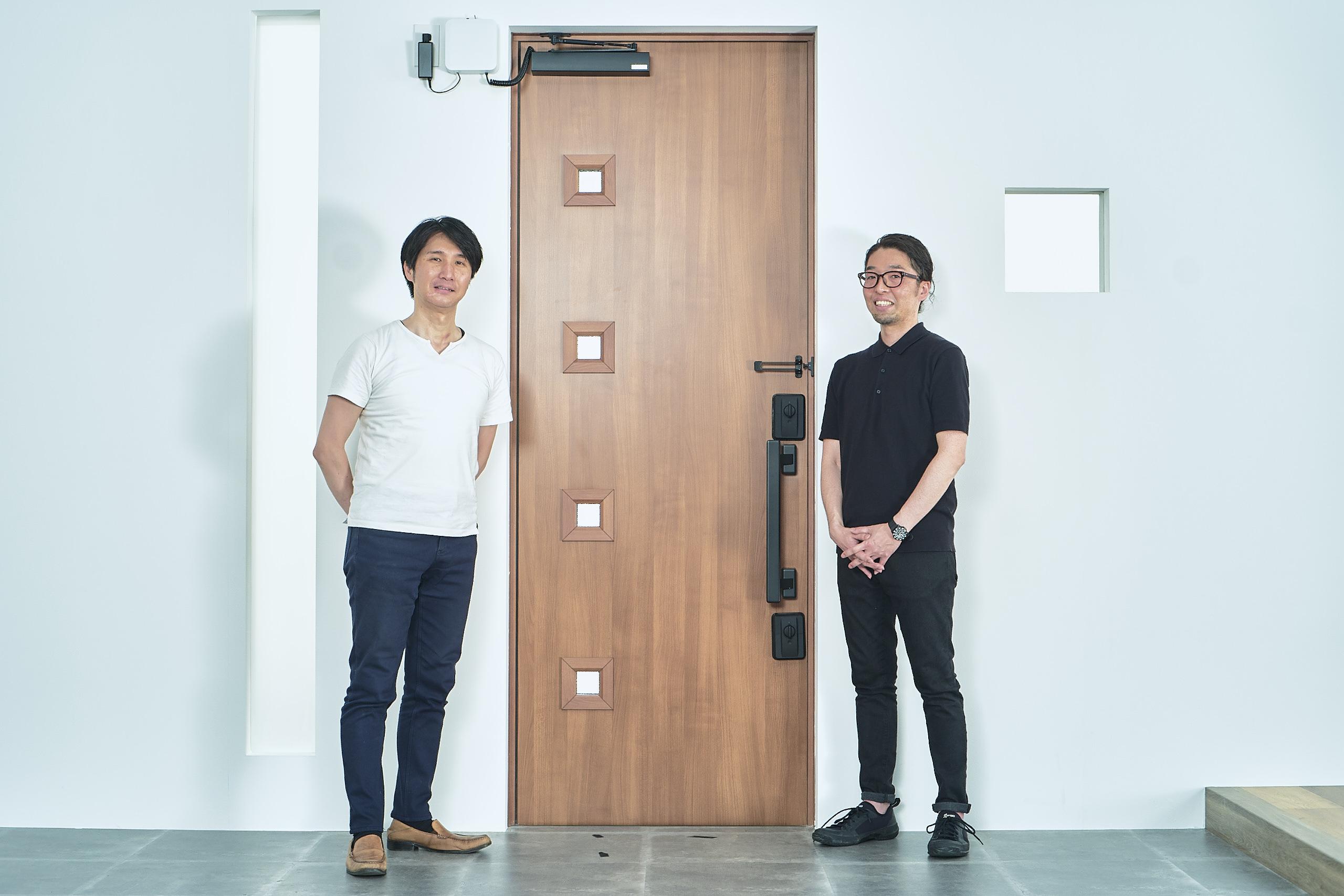 画像左 大澤 知自さん、画像右 今泉 剛さん 株式会社LIXIL